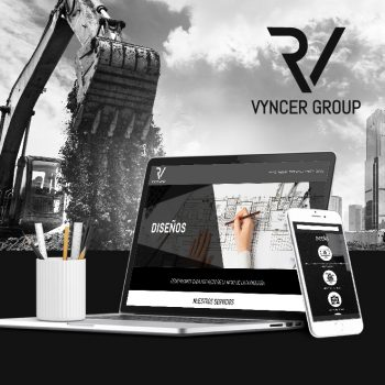 Vyncer Group – Diseño Web